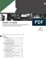 User guide UCG102_I_PT