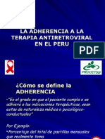 Adherencia Al TARGA (FG)