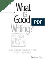 6 traits explained and good writing