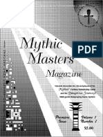 Dangerous Journeys Mythus master newsletter