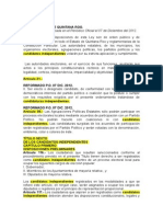 Ley Electoral de Quintana Roo, México