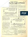 Theory of Tuning, Wave Lengths and Harmonics - Electrical Experimenter May 1918