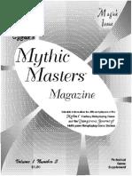 MMM3 mythus system Dangerous Journey rpg newsletter