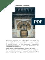 Acceso Al Mihrab de La Mezquita de Cordoba s X