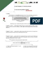 Ficha Analise Poema as Rosas Amo Dos Jardins r