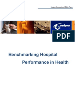 Benchmarking Hospital Performance in Health