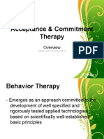 Acceptance & Commitment Therapy_Introduction