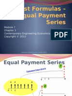 Module 7_Equal Payment Series