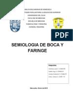 Resumen Semiologia de Boca y Faringe