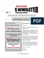 Martial Arts Games for Kids Newsletter Sampler