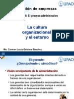 La Cultura Organizacional y El Entorno-semana 5-1era Parte