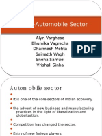 Pricing-Automobile Sector