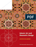 Islamic Art and Geometric Design Activities for Learning