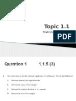 IB Biology Questions - Paper 1 Topics 1 + 2 Questions