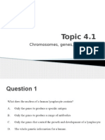 IB Biology Questions - Topic 4 Paper 1 Questions