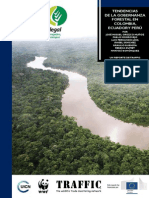 Tendencias de la gobernanza forestal en Colombia, Ecuador y Perú