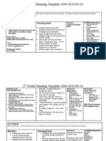 2nd grade planning 2009-2010 1