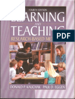 Learning and Teaching