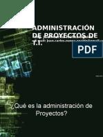 1. Administración de Proyectos Presentación
