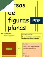 Areas de Figurasplanas