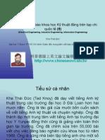 Vietnam 2.13:Tổ chức lớp viết báo khoa học Kỹ thuật đăng trên tạp chí quốc tế (8)