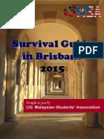 UQMSA Survival Guide 2015
