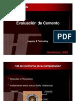 Evaluacion del Cemento Halliburton
