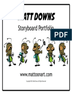 MATT DOWNS Storyboard Portfolio 2015