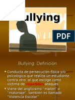 .Bullying o Violencia Escolar