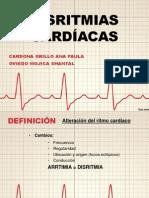 Disrritmias cardíacas
