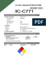 MSDS C771