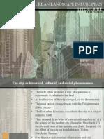 The Urban Landscape in European Literature