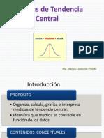 Medidas de Tendencia Central 2014