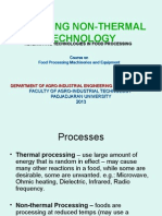 Emerging Nonthermal Technologies (Chapter 3 and 4)
