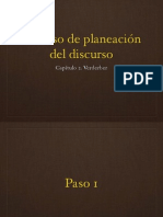 Capítulo 2. Proceso de Planeación Del Discurso