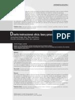 Diseño Instruccional Oficio, Fase y Proceso