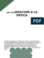Introducción a La Óptica