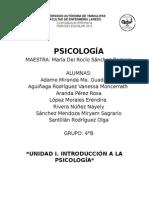 Unidad i. Introducción a La Psicología. (1)