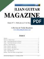 Brazilian Guitar Magazine 3