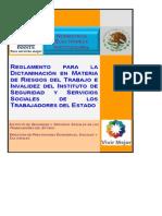 Manual Para Elaborar Dictamenes Por Rt e Inv Issste