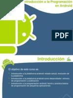 Introduccion a La Programación en Android