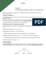 Algebra Recursa
