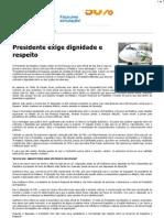 CM - Visita à Madeira Presidente exige dignidade e respeito