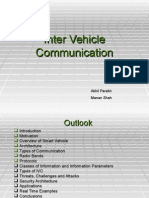 Inter Vehicular Communication