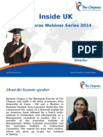 Webinar on the UK Study Experience
