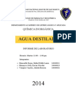 Informe QI Agua Destilada 8