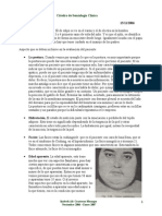 Cátedra Semiologia Clínica (1era Parte)