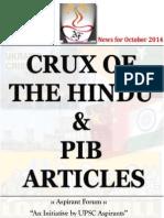 Crux of Hindu and Pib Vol 02