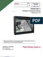 Flight Display System Installation, Fd70cvmc1