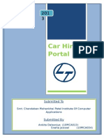 Car Hire Portal-Documentation